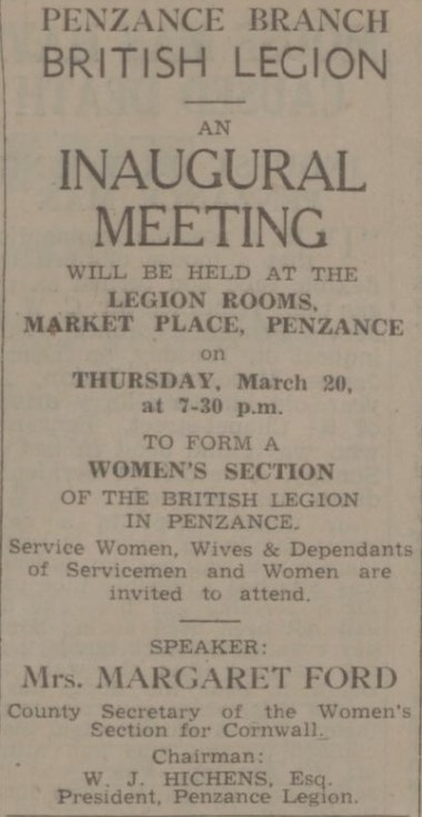 add rbl woman Thursday 13 March 1947